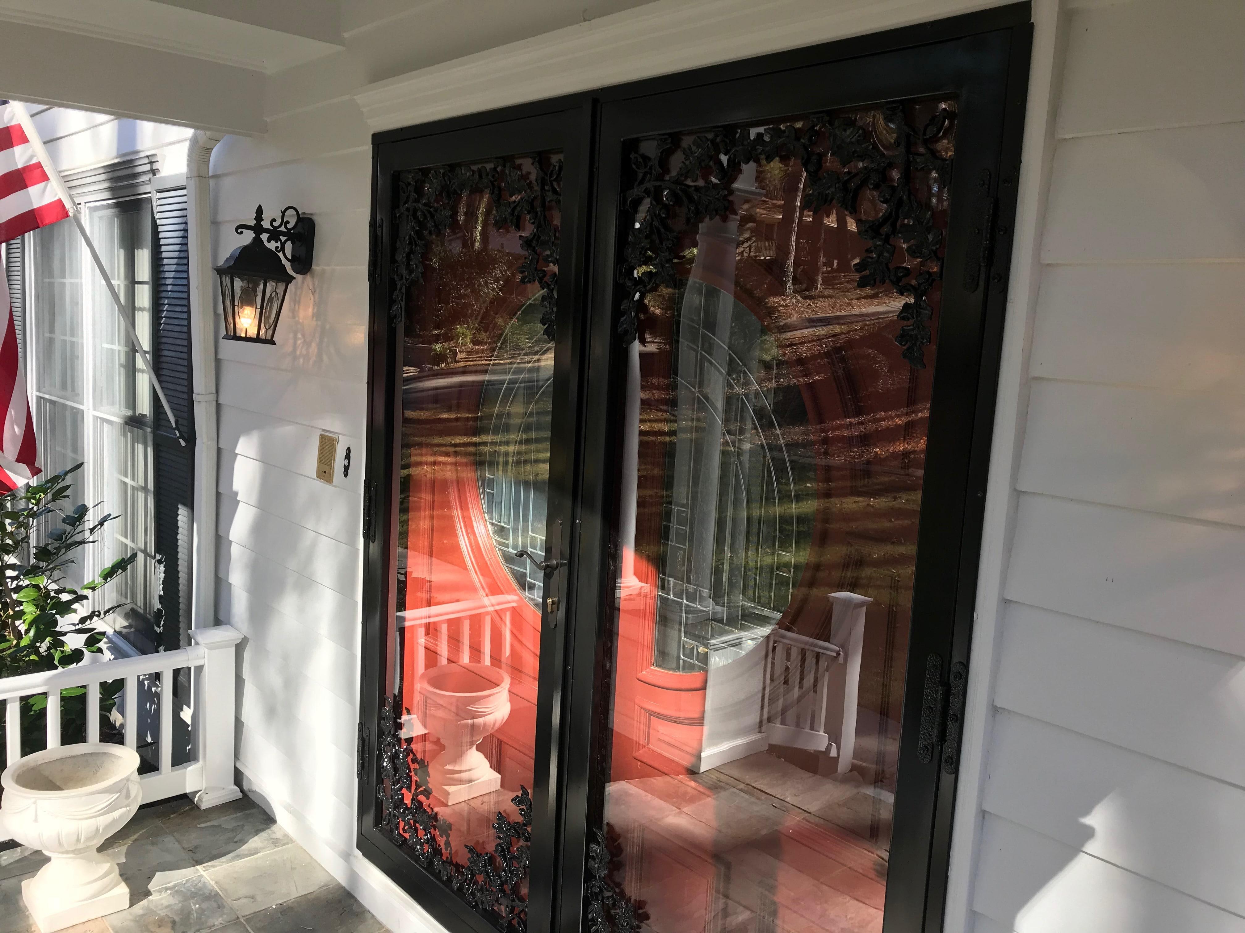 Security Doors Atlanta | Patio & French Doors | Ornamental Security