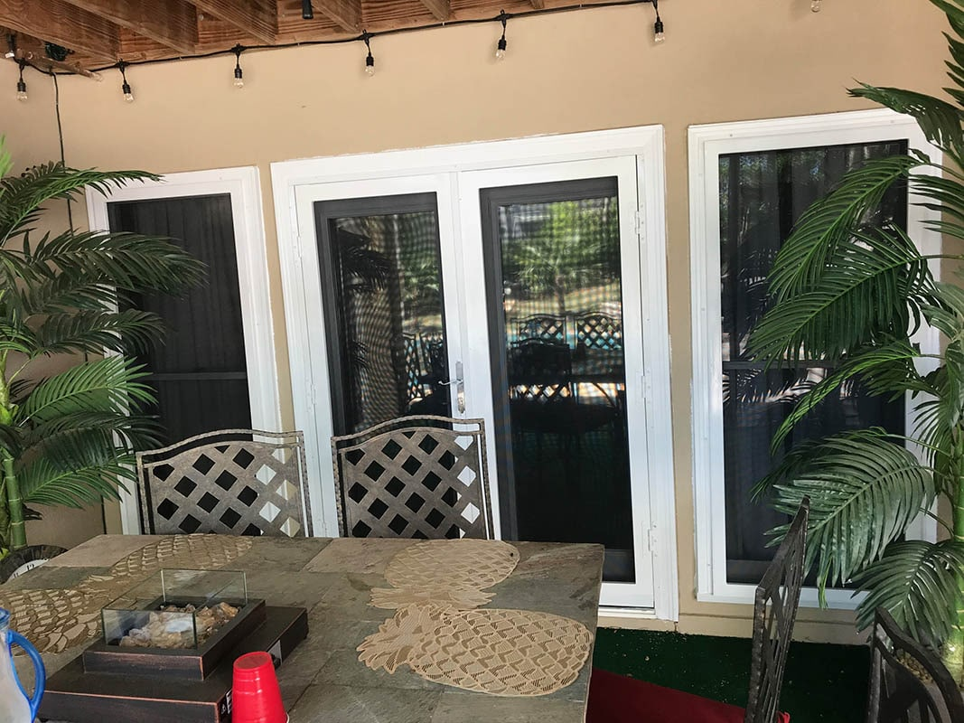 Security Screen French Door And Windows1