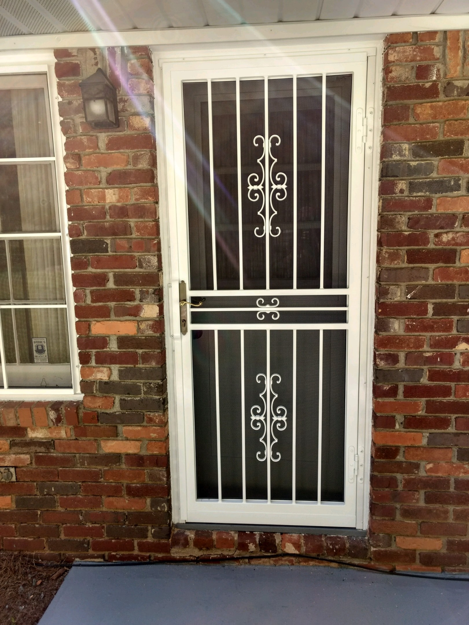 Tulsa Door With Screen3 Ornamental Security